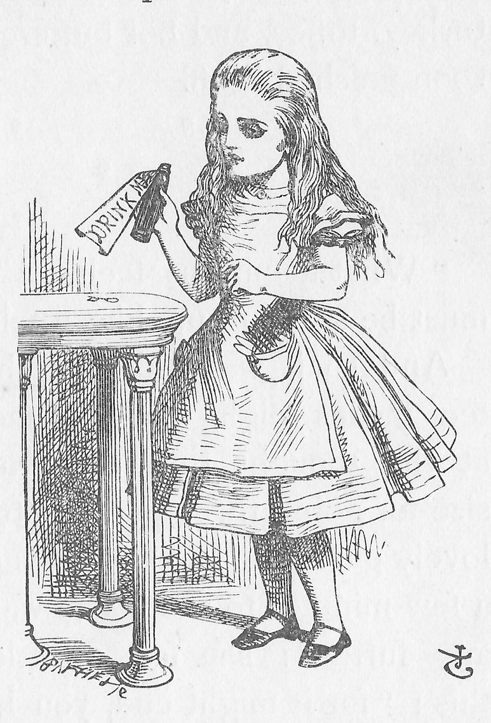 Alice's Adventures in Wonderland by Lewis Carroll, illustrated by Sir John Tenniel, 1886