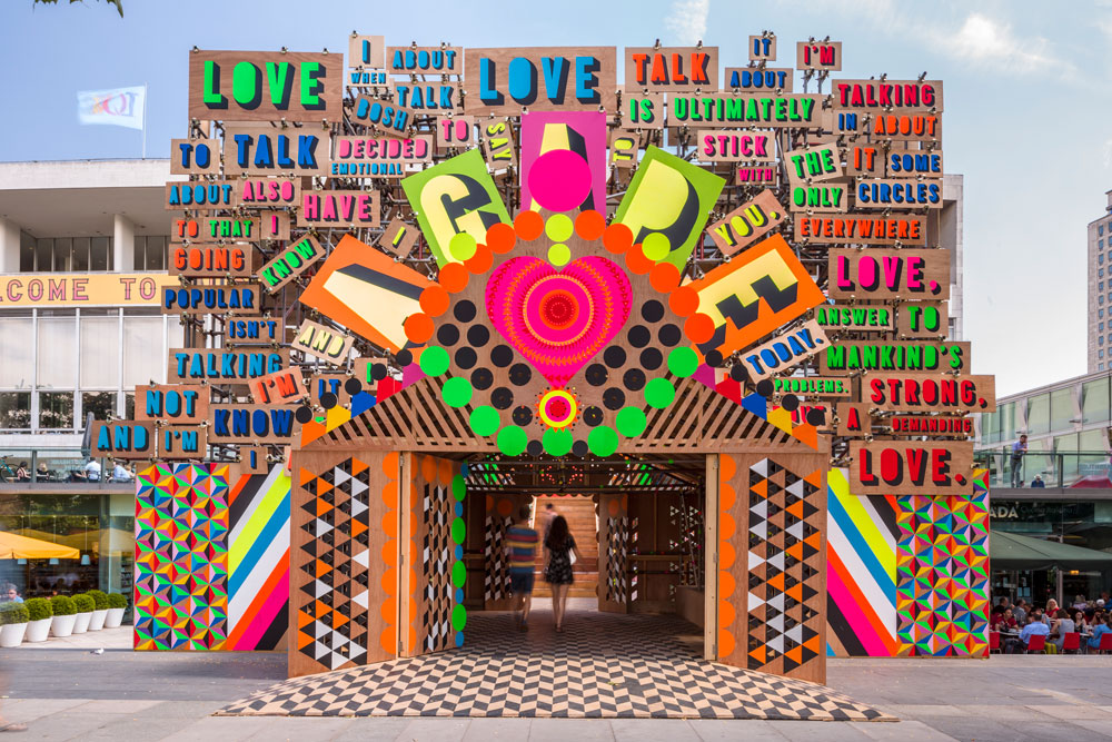 © Gareth Gardner. The Temple of Agape, Southbank, London