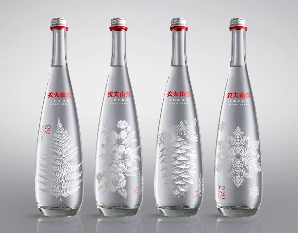 Nongfu Spring Mineral Water, by Horse