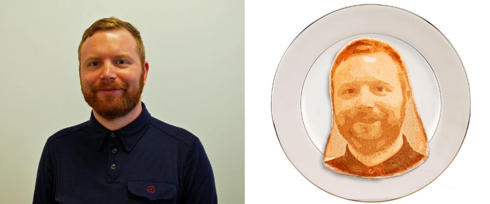 DW editor Angus gets the pancake treatment