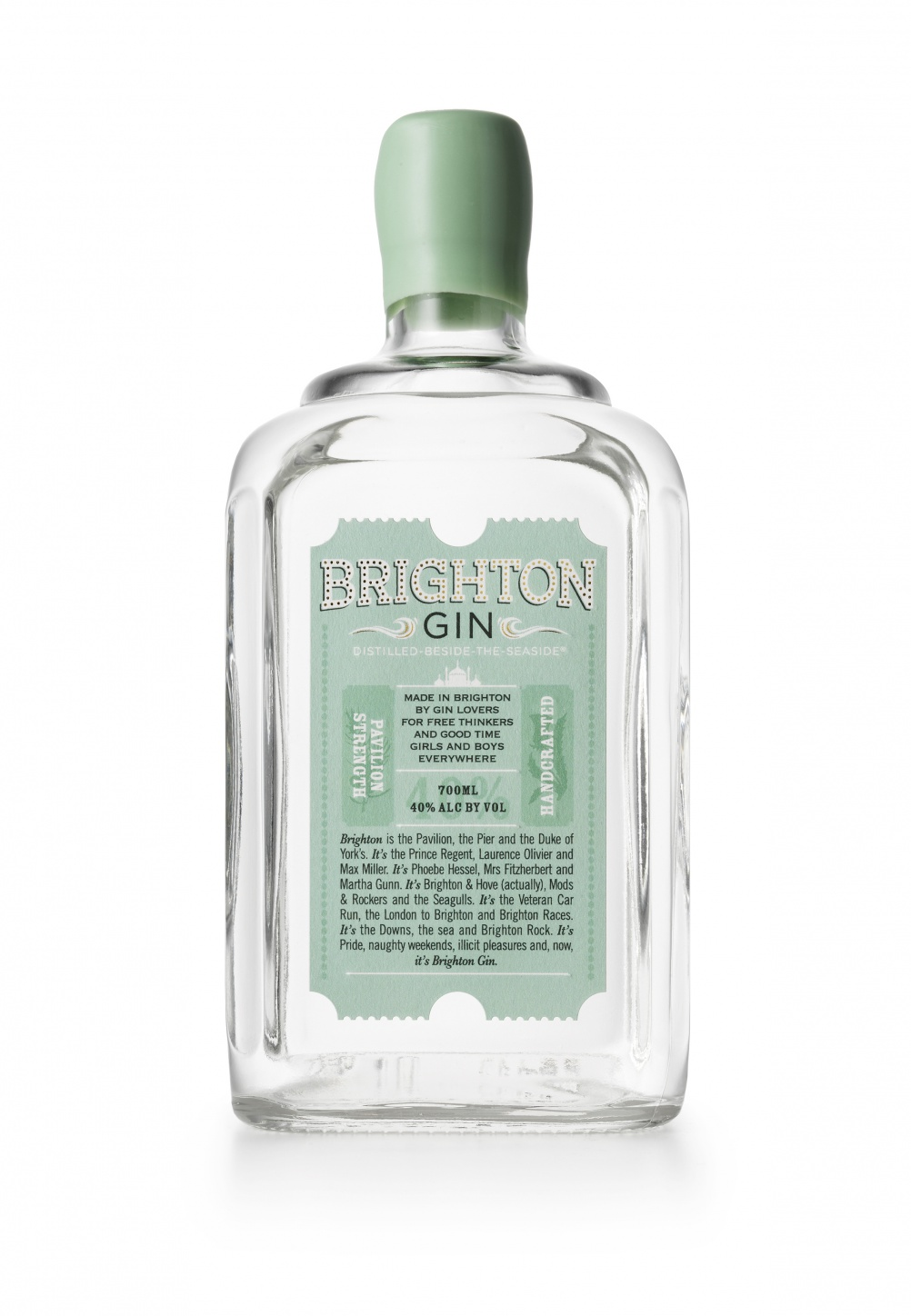 Brighton Gin packaging by Our Design Agency
