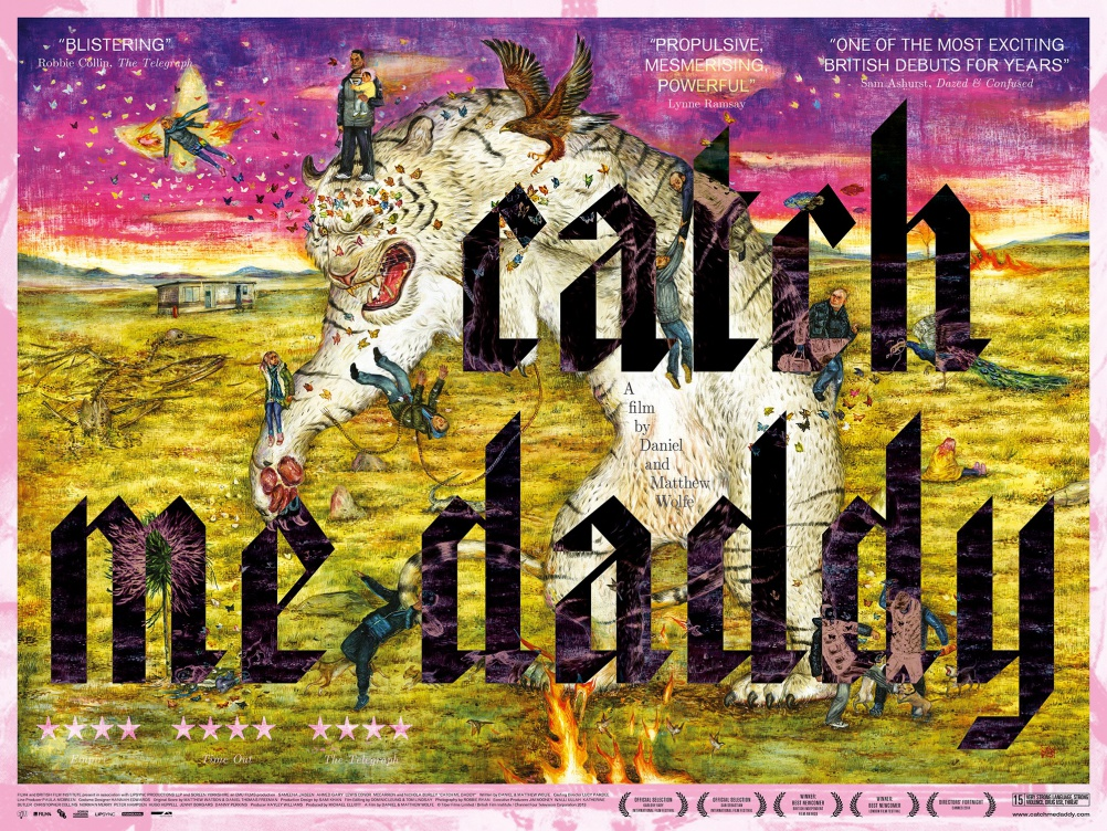 Catch Me Daddy poster by Fraser Muggeridge