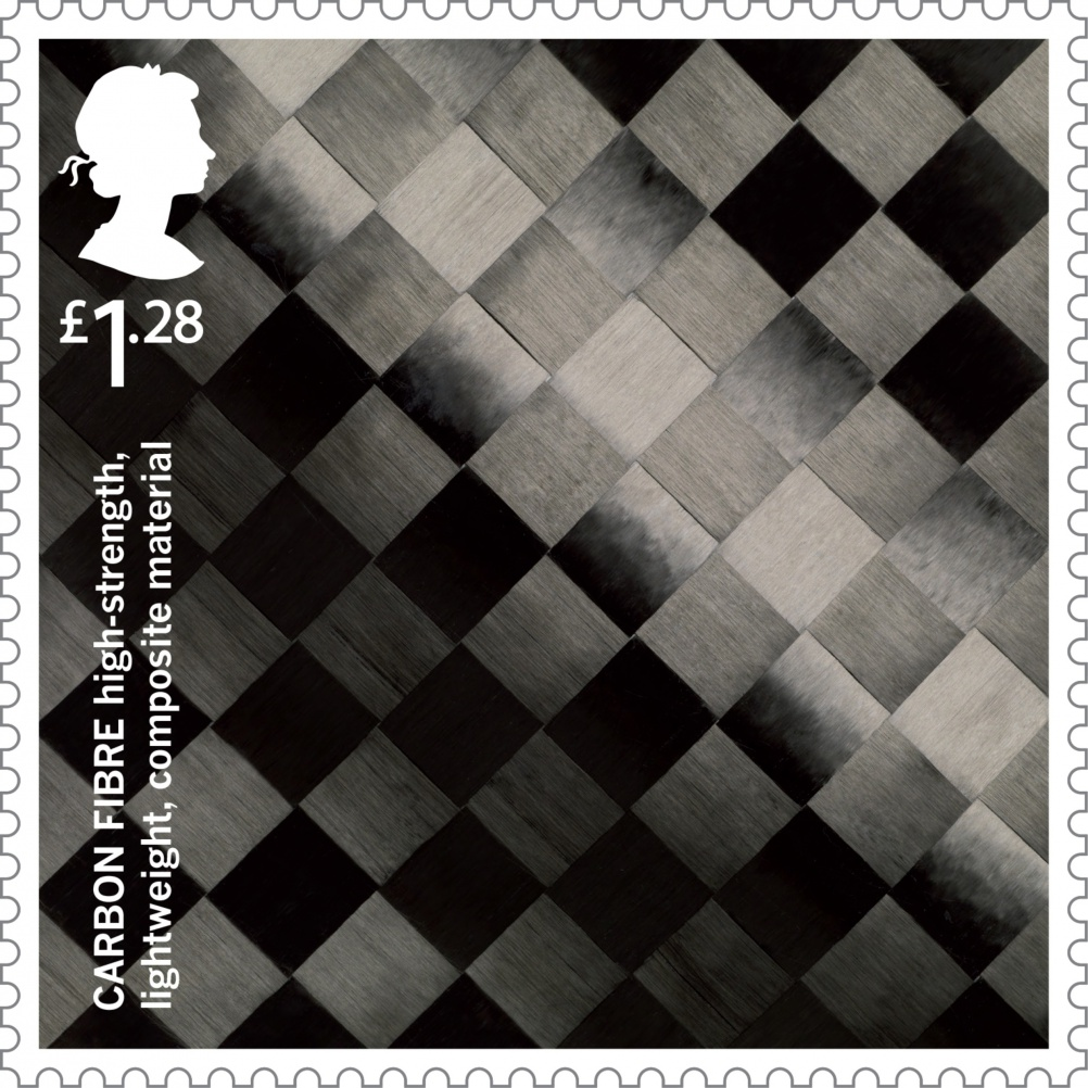 Carbon Fibre stamp, by GBH