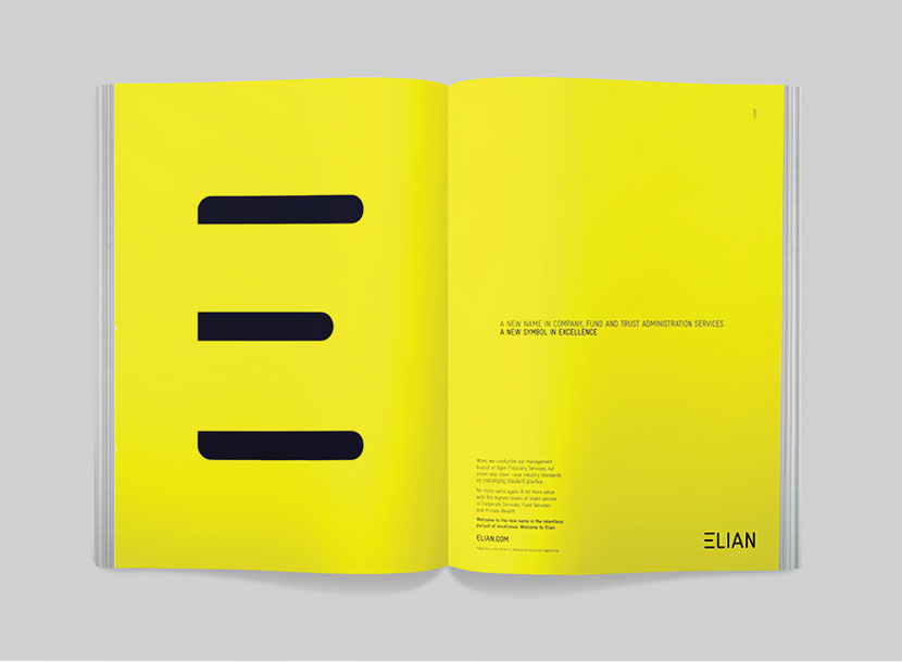 Elian print material, by Curious