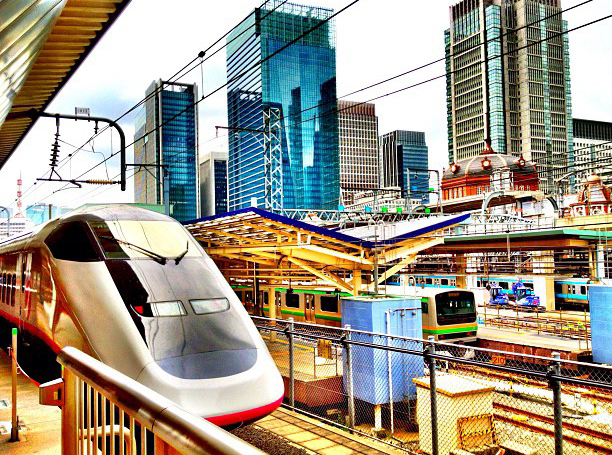 The Komachi bullet train