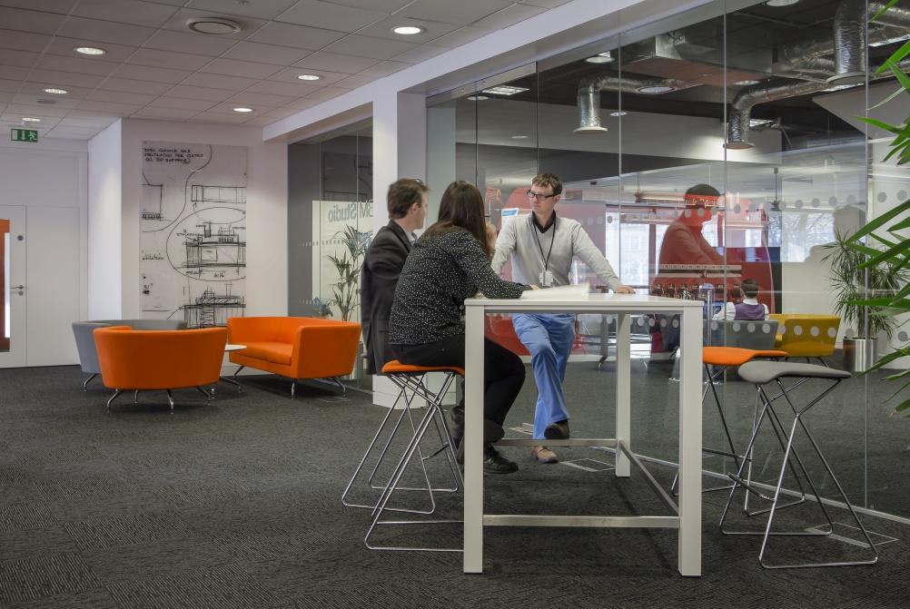 IBM's new London studio. Image by Tim Crocker Photograhy