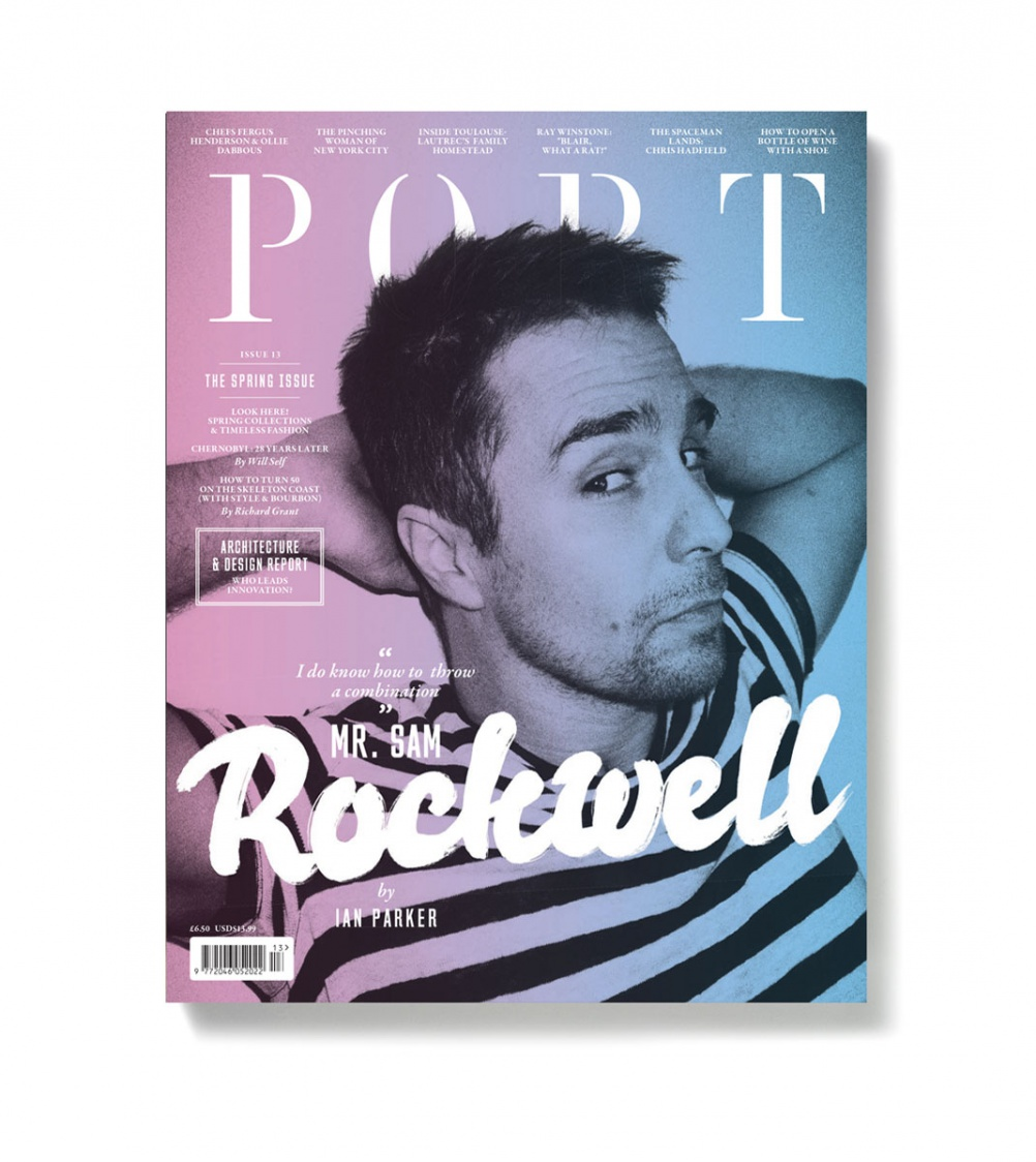 Cover for Port magazine