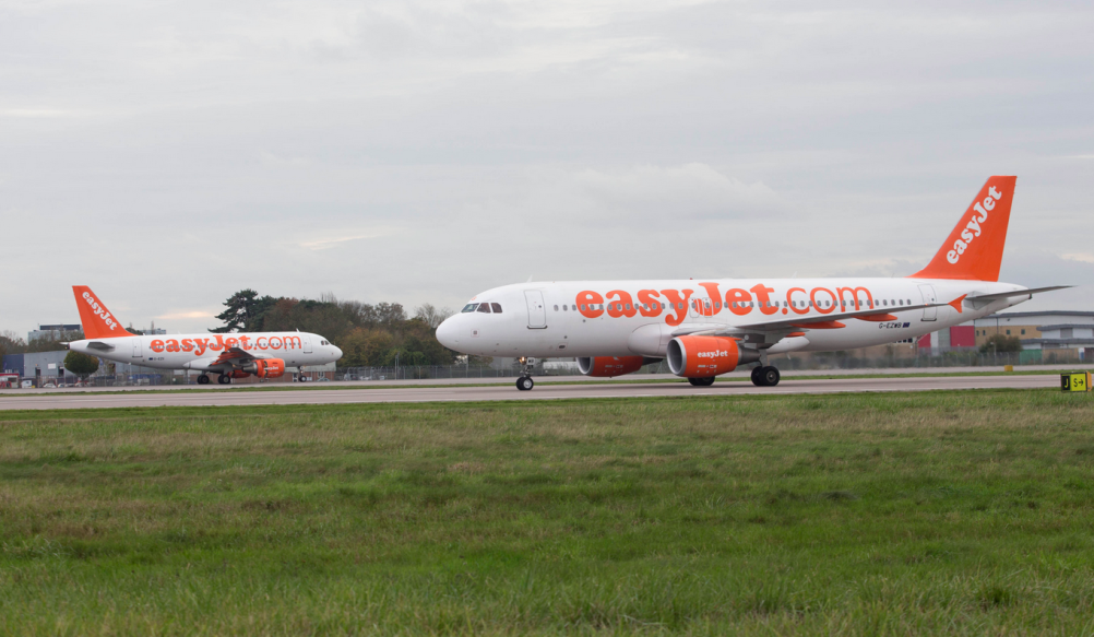 EasyJet's existing livery, introduced in 1998