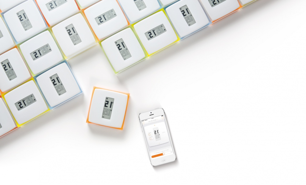 HeatSmart thermostat for EDF Energy by Philippe Starck