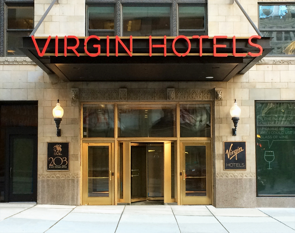 Virgin Hotels Chicago Front Entrance