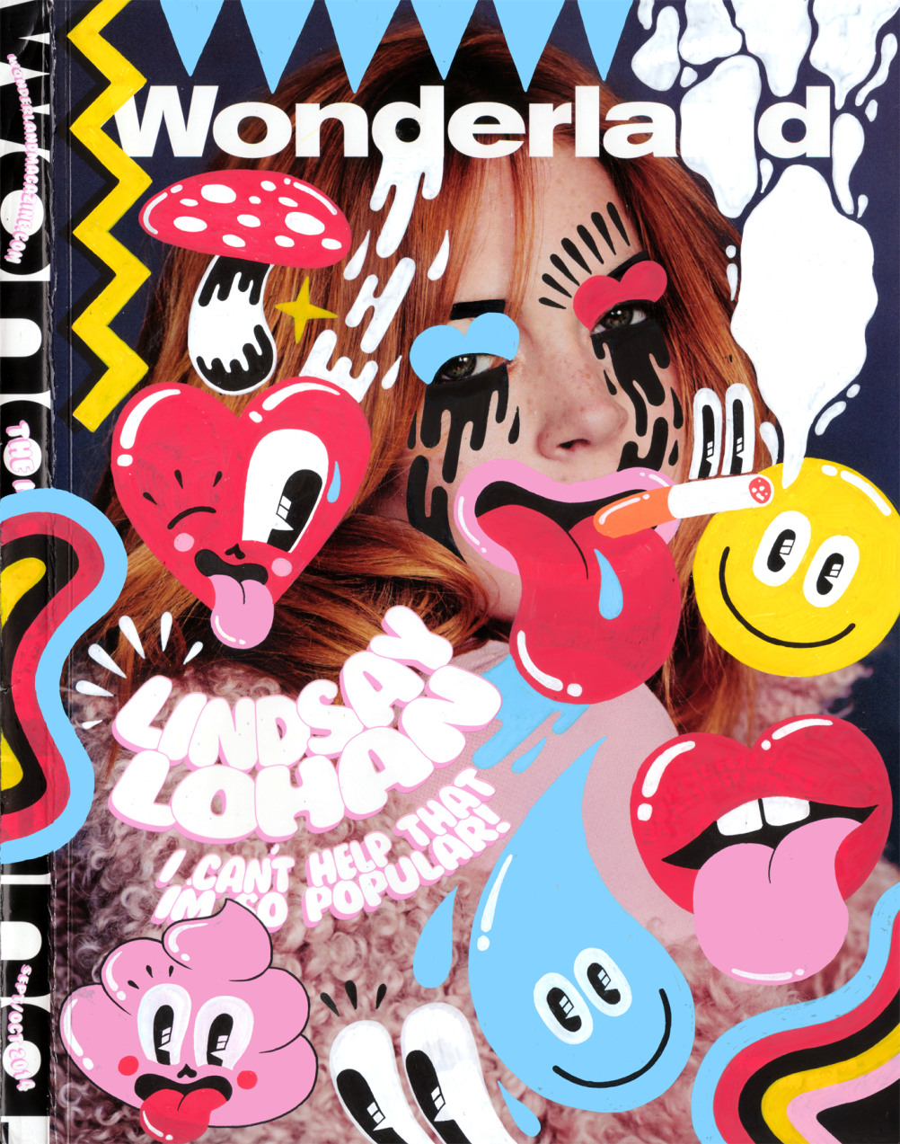 Wonderland magazine cover