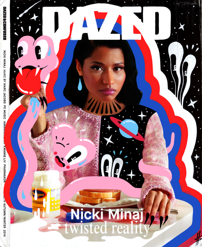 DAZED magazine cover