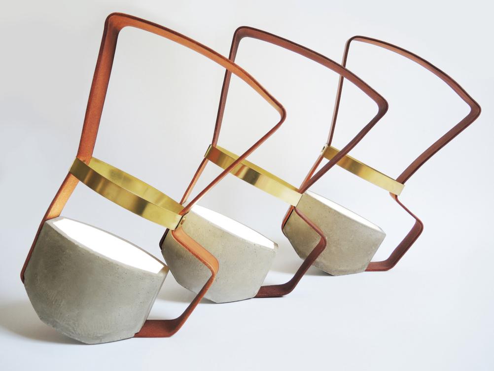 Nomadic lamp by Katharina Eisenkoeck