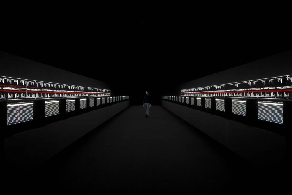 © Ryoji Ikeda. Photo: Ryuichi Maruo. Courtesy: Yamaguchi Centre for Arts and Media.