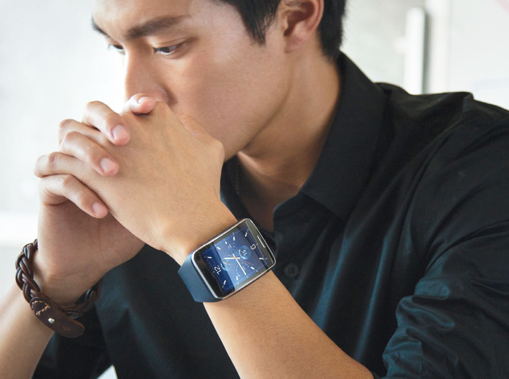 Samsung's Gear S watch