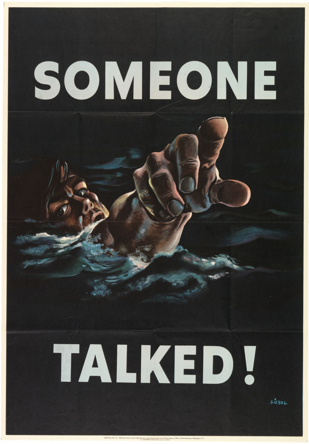 Someone Talked by Frederick Siebel, 1942