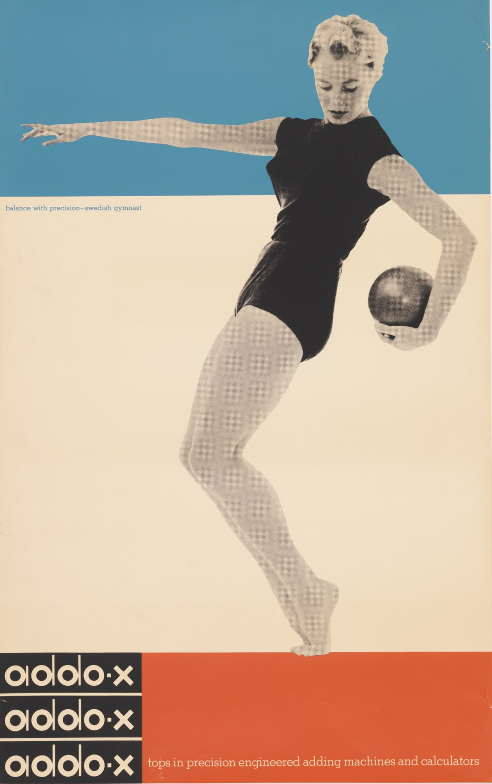 Poster for A. B. Addo by Ladislav Sutnar , 1958