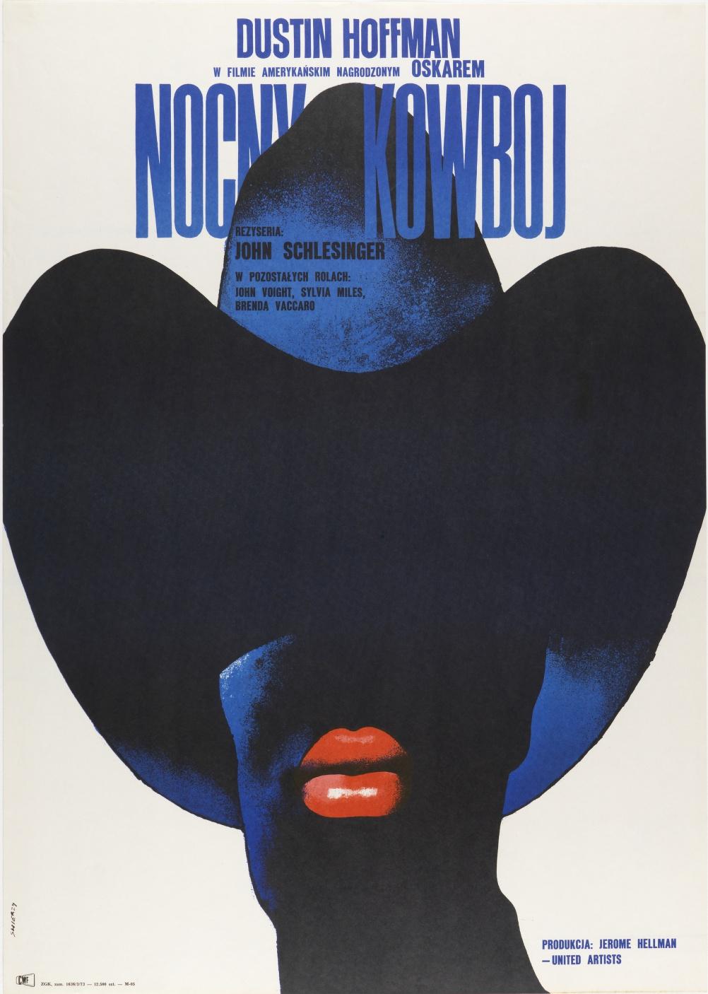 Nocny Kowboj (Midnight Cowboy), by Waldemar Swierzy, 1973