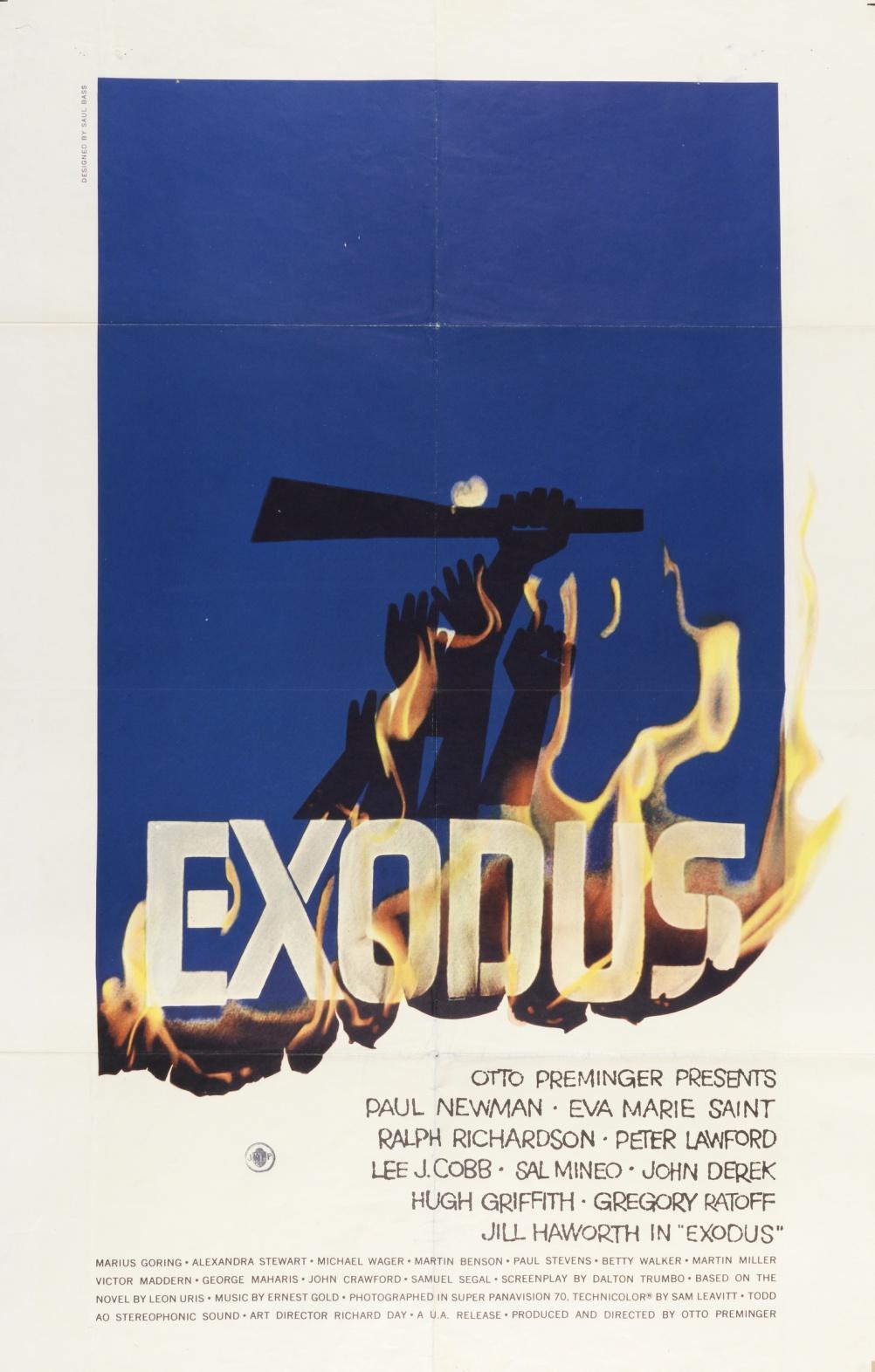 Exodus by Saul Bass, 1961