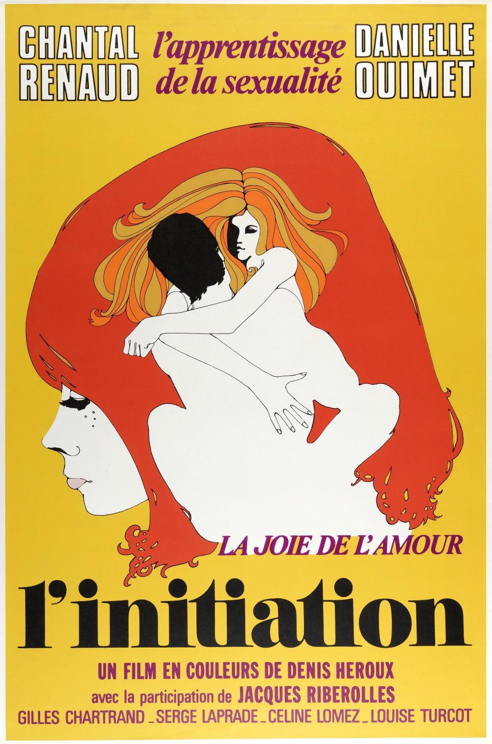 L'initiation by Jacques Delisle, 1970