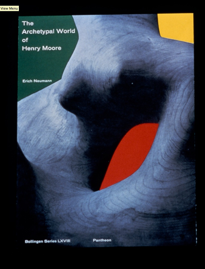 The Archetypal World of Henry Moore by Erich Neumann, book jacket design by Paul Rand. Courtesy of Steven Heller
