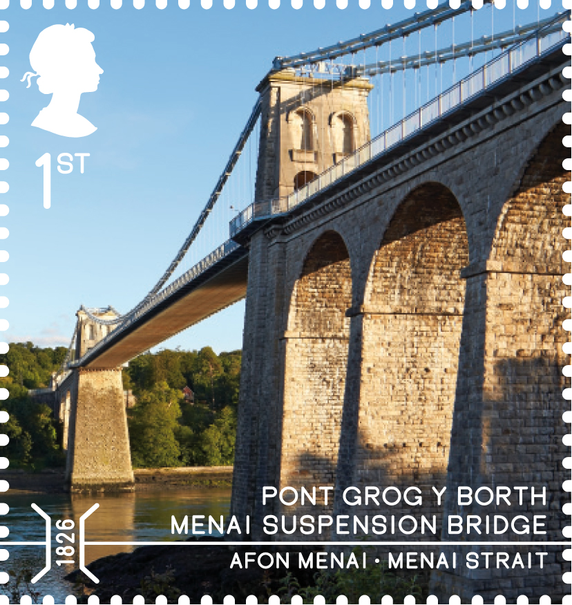 5.Stamp_MenaiSuspensionBridge