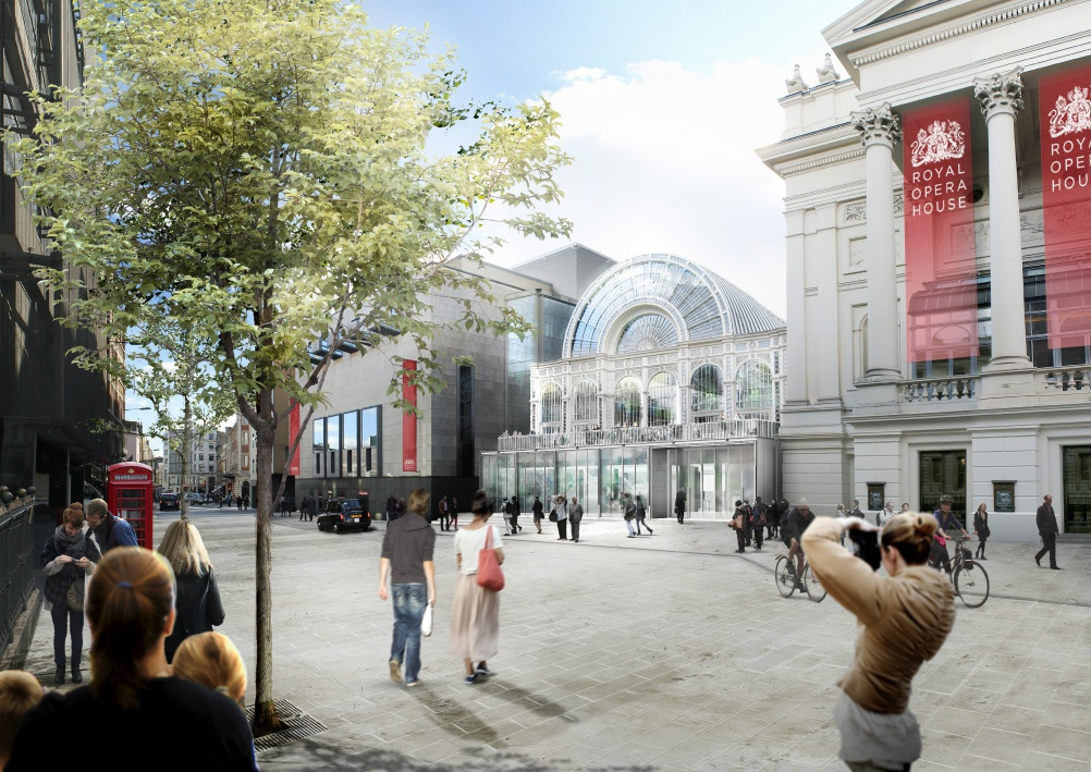 Proposals for the new Bow Street entrance