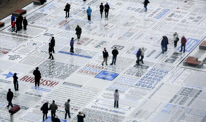 Comedy Carpet. © Why Not Associates.