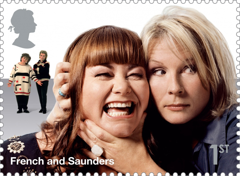 Comedy_Greats_French_and_Saunders_Stamp_400