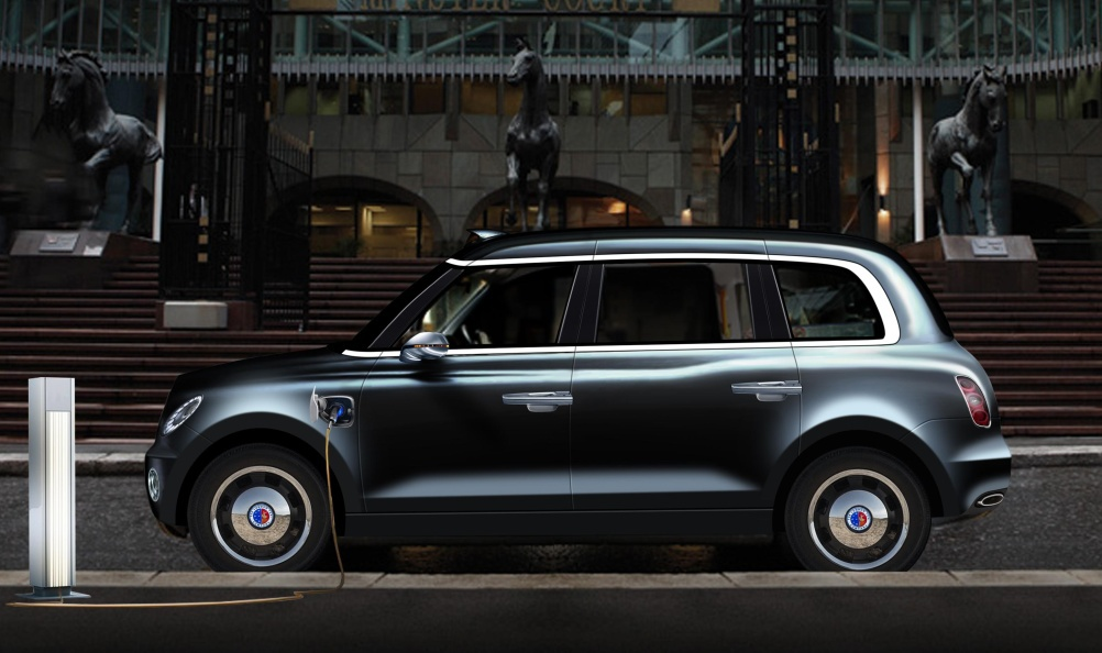 London Taxi Company concept design for a hybrid cab