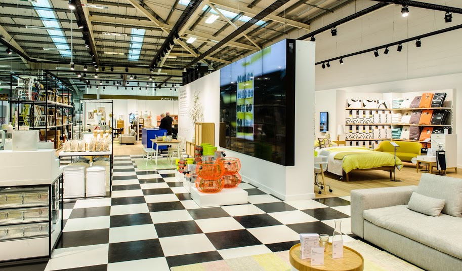 Habitat launches largest concept store yet design week for Habitat outlet