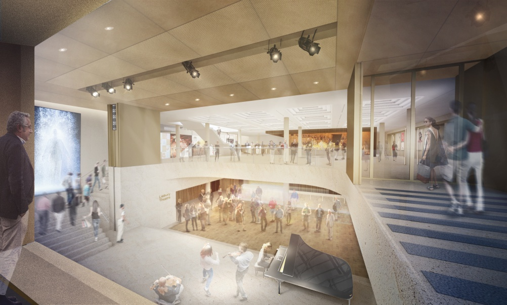 Proposals for the main foyer