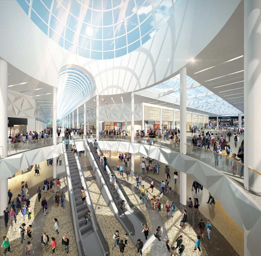Sheffield's Meadowhall Shopping Centre In £50m Overhaul
