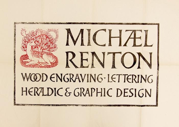 Michael Renton's sign advertising Michael Renton