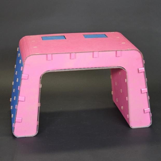 Pink & Blue Desk