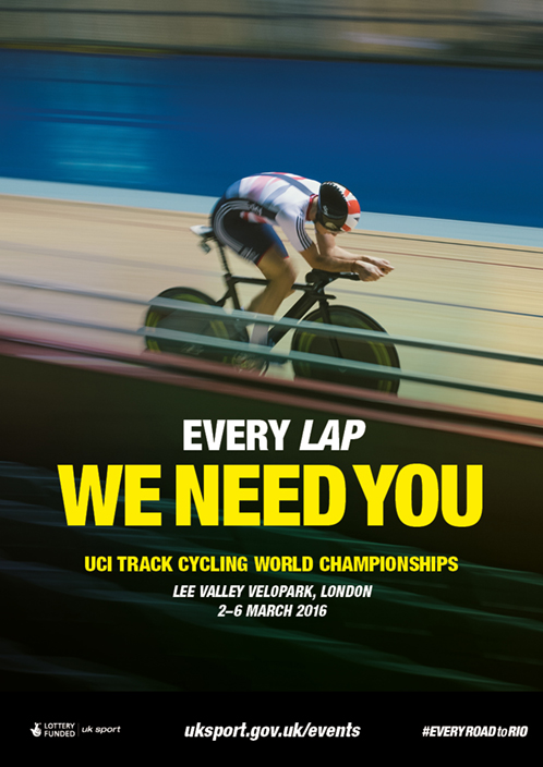 Road to Rio_A3 Generic Poster_Track Cycling