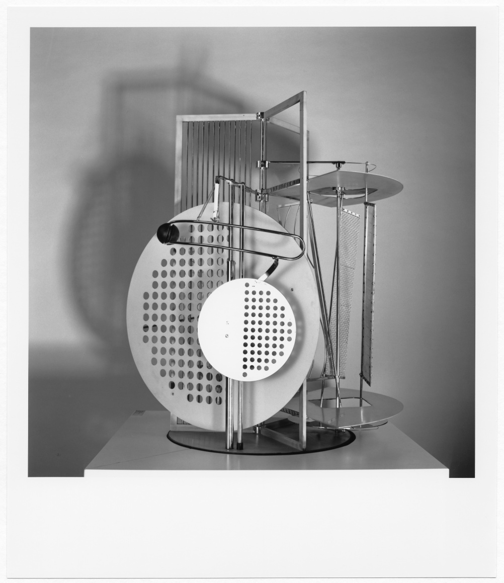 László Moholy-Nagy, Light Prop for an Electric Stage, 1930 (replica of 1970)