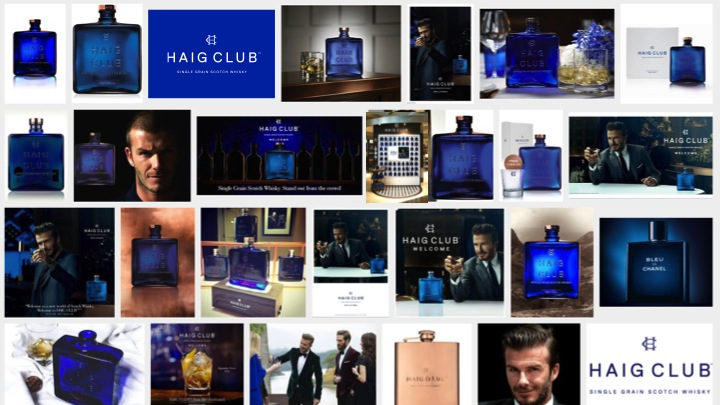 Haig Club designs for Diageo by Love