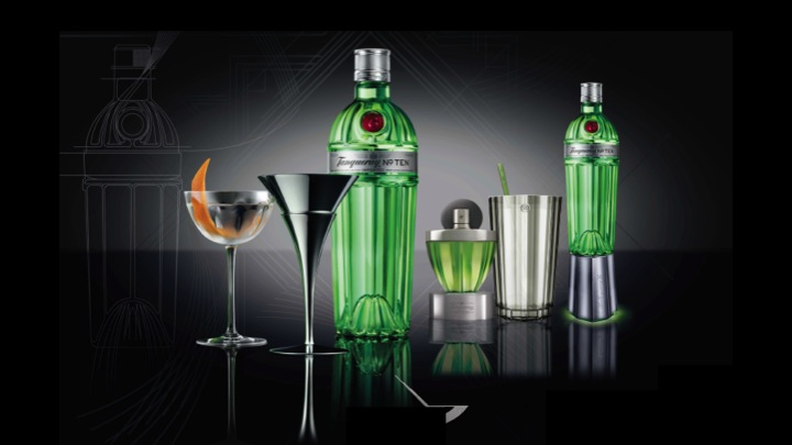 Tanquray No. Ten designs for Diageo, by Design Bridge