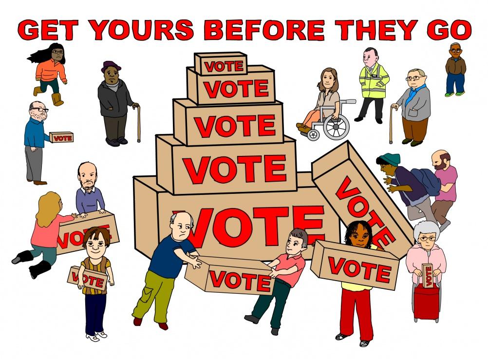 Vote by Janette Paris