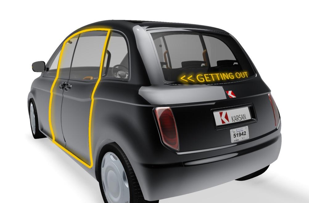 Karsan's taxi concept