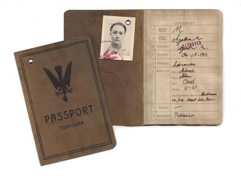Passport design for The Grand Budapest Hotel