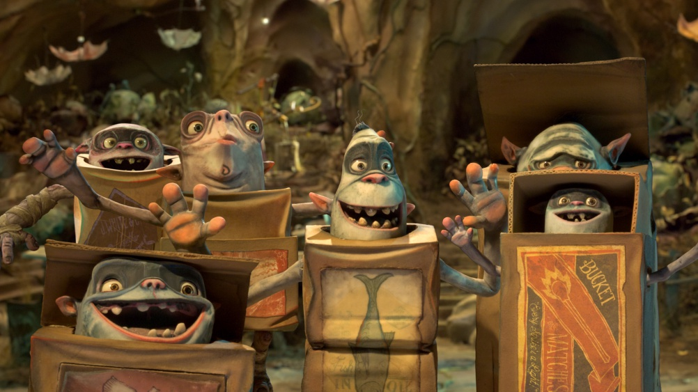 Graphics for The Boxtrolls