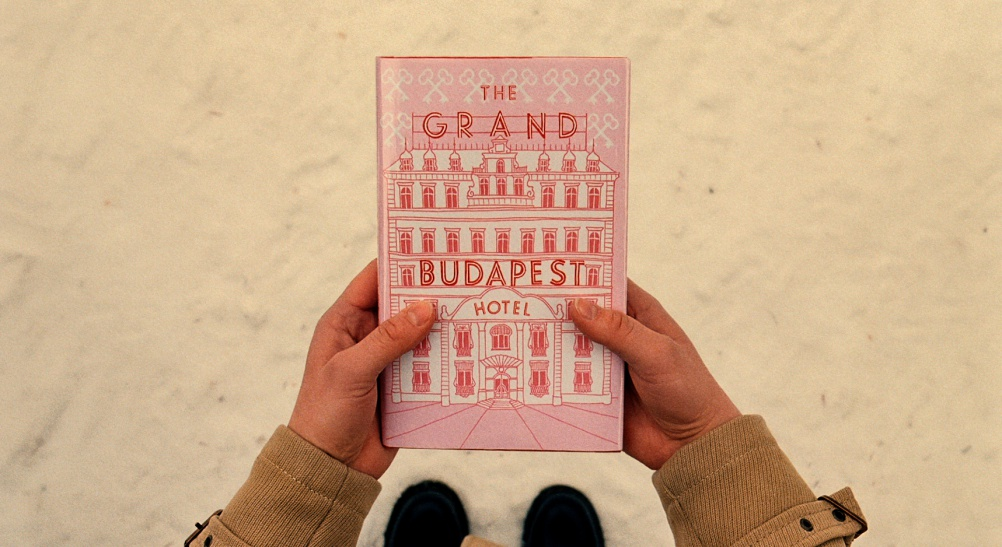 Graphics for The Grand Budapest Hotel