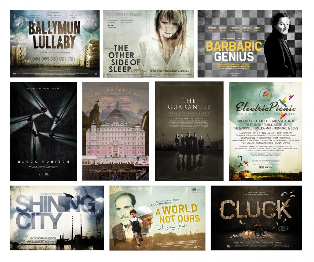 Film poster graphics