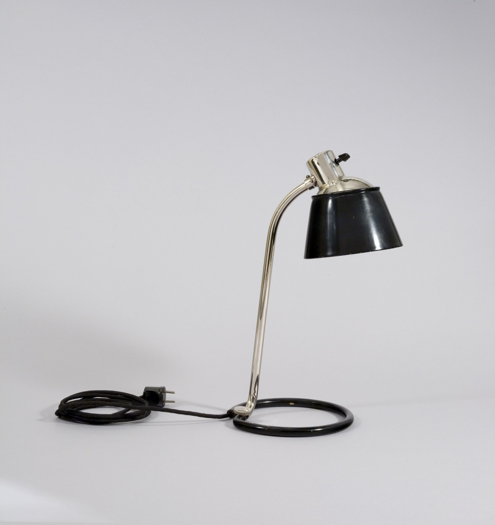 New Object: Heinrich-Siegfried Bormann, Kandem Tubular-Steel Desk Lamp No. 934, 1932