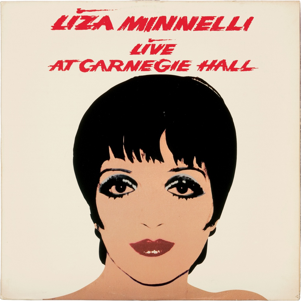 Liza Minnelli Live at Carnegie Hall, 1981. Liza Minnelli. © The Andy Warhol Foundation for the Visual Arts, Inc.