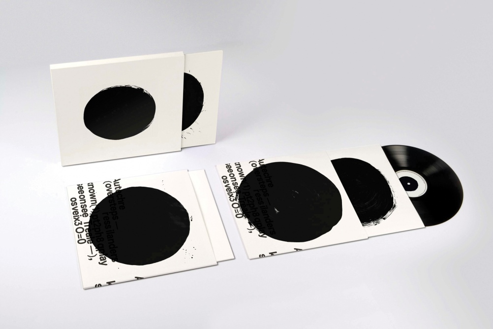 "Autechre — Oversteps album (Warp) 2009 Ltd Edition 12"" vinyl with Ltd Edition TDR™ / Autechre print"
