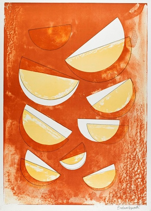 Barbara Hepworth, The Aegean Suite, 1971, Lithograph on paper, Courtesy The Hepworth Wakefield