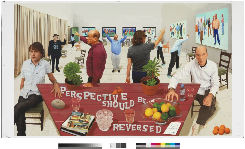 David Hockney, Perspective Should Be Reversed, 2014